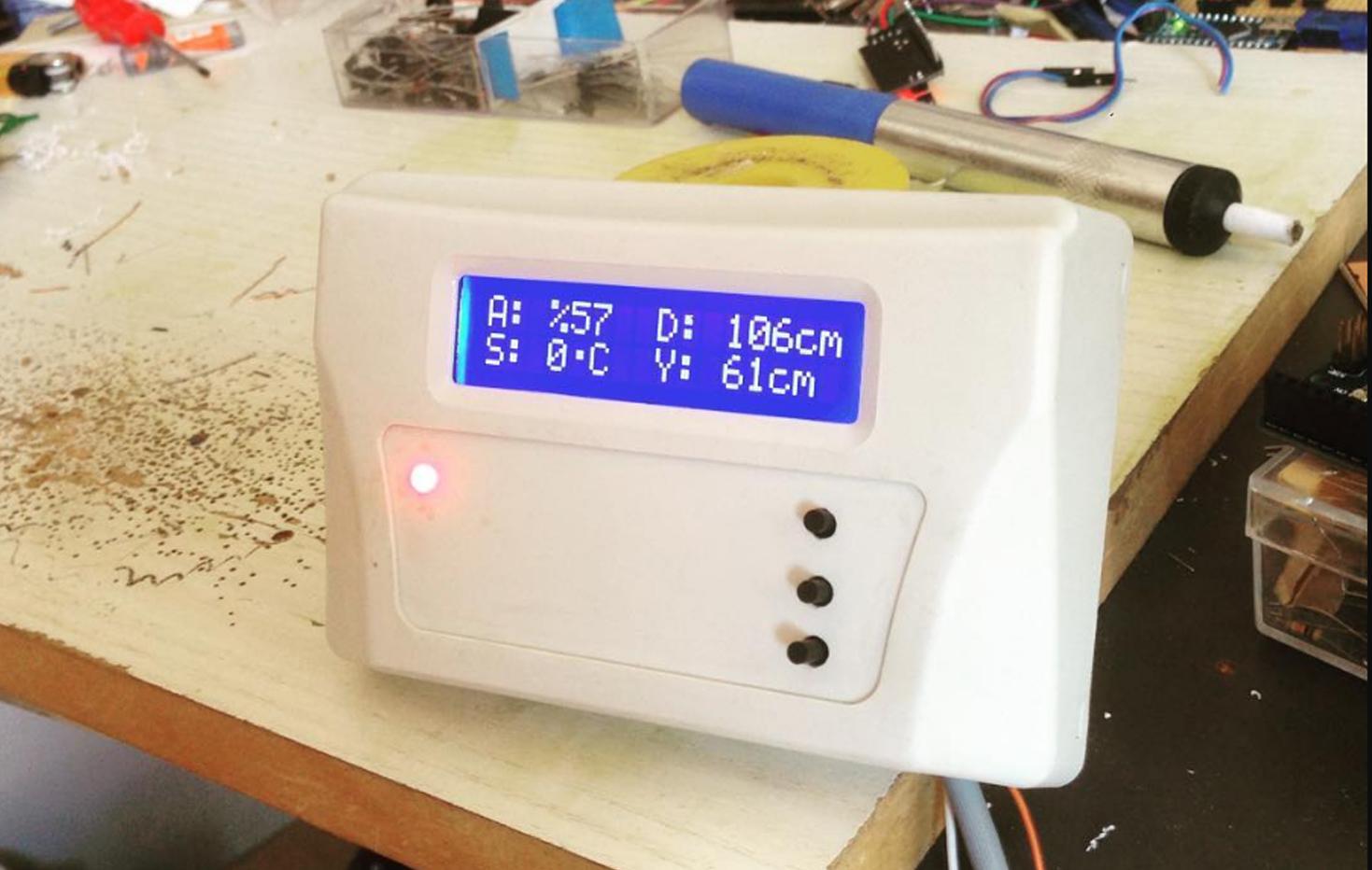 Ultrasonik Seviye Ölçüm Cihazı