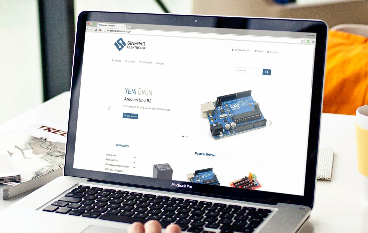 Sinepar Elektronik Web Sitesi